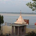 Temple at Yoga Mandir.