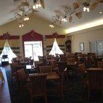 dining area- fantastic breakfast