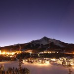 The Carabiner Lounge is located slopeside in the Summit Hotel in Big Sky's Mountain Village.