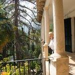The house balcony
