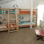 Log bunk beds - twin over twin & twin over full
