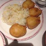 Chicken Balls & Rice - Kids Portion