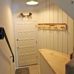 Entry with ski and coat rack