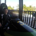 Mystic Mountain bobsled - the highlight of Jordan's trip!