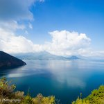 View from the top of Lake Atitlan Villas property!