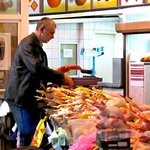 Poultry vendor - Bessarabsky Indoor Market, Kiev (September, 2013)