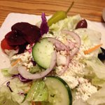 Love their Greek Salad - and now comes as a combo with the sandwich - under $10!
