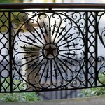 Original wrought iron work