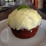 Carrot cupcake. YUM!