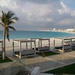 Playa desde las terrazas
