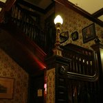 Staircase to the rooms