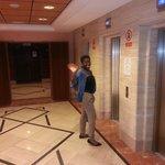 lobby/ lift area