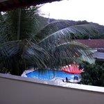 vista desde el balcon de la habitacion 9