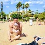 Пляж! племяшка!