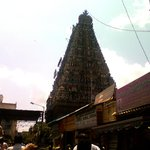 Mylapore temple-Muralitharan photo