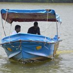 Boat shown with the manager