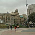Placa Catalunya square