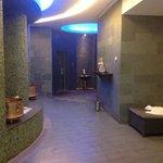 inside spa sauna and steam room areas