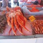 Берген. Рыбный рынок.