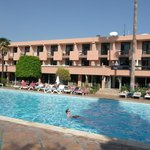 hotel coté piscine