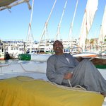 Abu Yousef on the Felucca