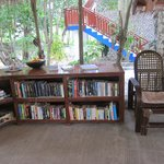 the small library where you can have books to read