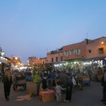 jemaa el fna; the centrre of Marrakesh