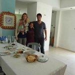 Family meal with Haifa