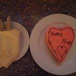 Honeymoon cake from the staff