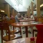 Airy dinning room