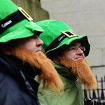 Happy saint Paddies Day from Aussies Paul & John
