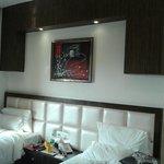 room's bed