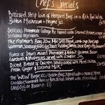 Some of the farmers boy inn monthly Chefs Specials 2014