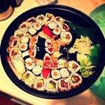 Vassoio take away sushi mix! Spettacolare!!