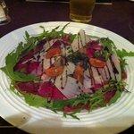 carpaccio of beef, wonderful!!