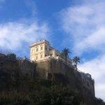 Villa vue du port