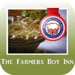 "Download our New Exciting App ""Farmer Boy Inn""  Go to your App Store now. It's FREE"