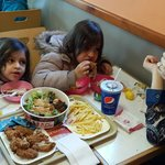 My family at KFC Leicester