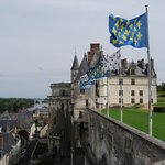 I loved the view from the furthest point of the grounds back to the Chateau and grounds