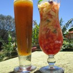 Drinks at Mango