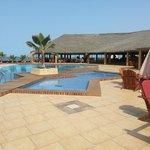 Baobab Look Flamboyant piscine restaurant
