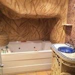 Baño de la habitación marroquí
