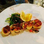 Beautiful and very tasty scallops