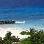 Spiaggia con mare calmo