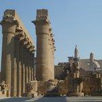 il colonnato del Tempio