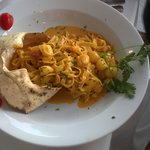 Fettucini & Crab