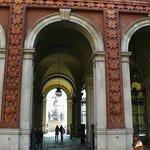 Nazionale del Risorgimento: Torino: Italia: verso Piazza Carlo Alberto