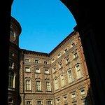 Nazionale del Risorgimento: Torino: Italia: veduta cortile