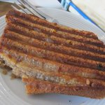 Grilled banana bread
