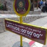 la linea ecuatorial